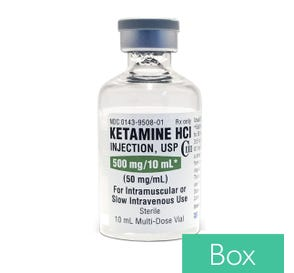 Ketamine 50mg/ml 10ml - 10/Box