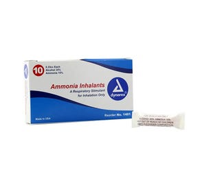Ammonia Inhalants, 0.33 cc Ampule - 10/Box