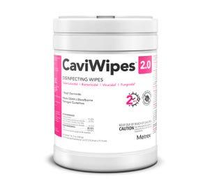 "CaviWipe 2.0 Germicidal Wipe, 6""x6.75"" - 160/Tub"