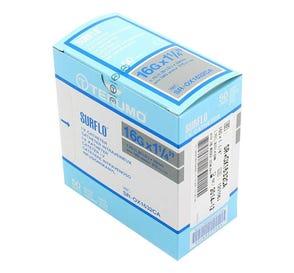"SURFLO® IV Catheter, 16G x 1 1/4"", Gray - 50/Box"