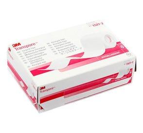 "Transpore™ Surgical Tape, Transparent Plastic, 2"" x 10 yds - 6/Box"