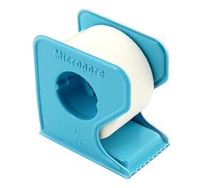"Micropore™ Surgical Tape, White Paper w/Dispenser, 1"" x 10yds  - 12/Box"