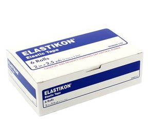 "Elastikon Elastic Tape 2"" x 2 1/2"" Yds - 6/Box"