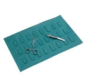 """Devon™ Magnetic Drape, 10"""" x 16"""", Disposable, - 30/Case"""