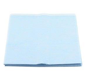 """Patient Drape 40"""" x 48"""" Non-Sterile Blue - 50/Case"""