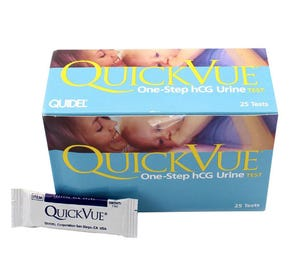 QuickVue One-Step Urine Pregnancy Test - 25/Box