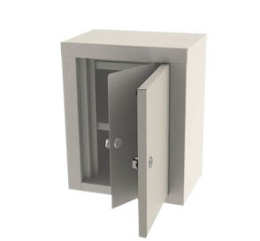 Narcotic Cabinet Double Door Double Lock