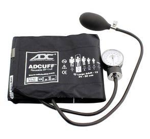 Prosphyg™ 760 Pocket Aneroid Sphyg w/Large Adult (34-50cm) Adcuff™, Black