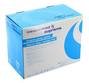 Surgeon Glove 7 Latex Powder-Free Supreme Textured - 100/Box