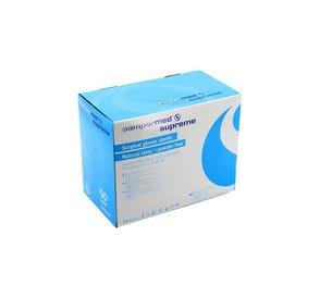 Surgeon Glove 8.5 Latex Powder-Free Supreme Textured - 100/Box