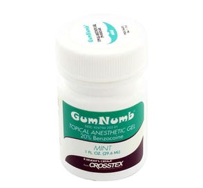 GumNumb® Topical Anesthetic Gel 1 oz Jar, Mint