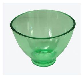 "CandEEZ Flexible Mixing Bowl, Large (4.5"" x 3"", 600 cc), Green"
