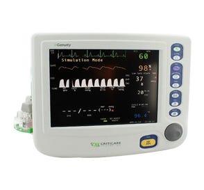 nGenuity® Patient Monitor w/ECG SpO2, NIBP, Resp Rate & Printer