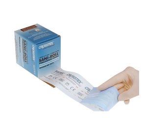 """Sani-Tube® Sterilization Tubing without Process Indicators, 6"""" x 100' Roll, Nylon - 100/Roll"""