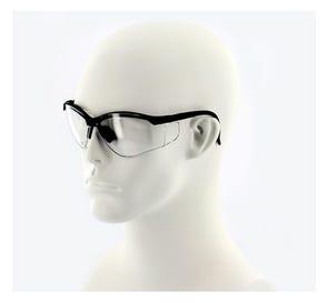 ProVision™ See-Breeze Eyewear Black Frame Clear Lens