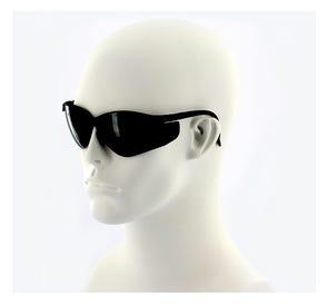 ProVision™ See-Breeze Eyewear Black Frame Grey Lens