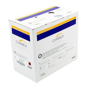 GAMMEX® Non-Latex PI Surgical Gloves, 7.5, Latex-Free, Powder-Free - 100/Box