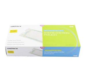 """See-Through Self Seal Sterilization Pouch, 5 1/4"""" x 10"""", - 200/Box"""