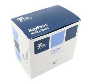 "Kay-Pees® Professional Towel 13 1/2"" x 17 1/2"" White - 500/Case"