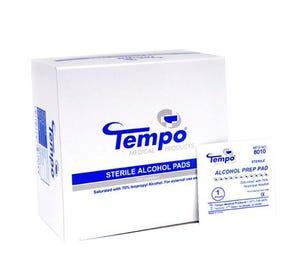 Alcohol Prep Pads Medium Sterile - 200/Box