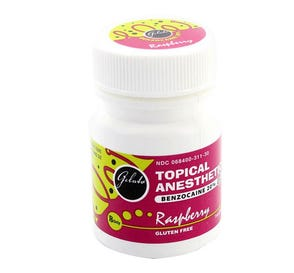 Gelato® Topical Anesthetic Gel, 1 oz Raspberry