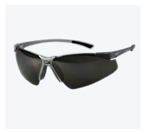 Tech Specs™ Safety Eyewear Grey Frame Clear Lens