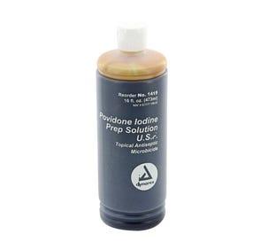 Povidone Iodine Prep Solution, 16 oz