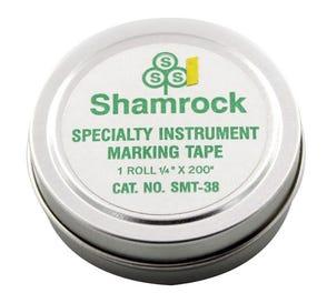 "Instrument Tape Yellow 1/4"" x 200"""