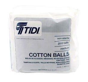 Cotton Balls Non-Sterile Medium - 1000/Bag
