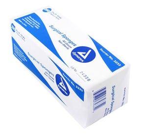 """100% Cotton Gauze Sponge, Non-Sterile, 3"""" x 3"""", 12Ply - 4000/Case"""