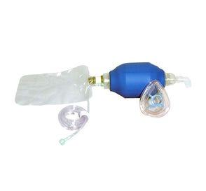 Resuscitator Bag w/Mask Latex-Free Adult