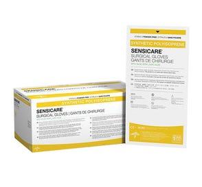 SensiCare® Surgical Gloves w/Aloe Vera, Size 7, Latex-Free, Powder-Free - 50/Box