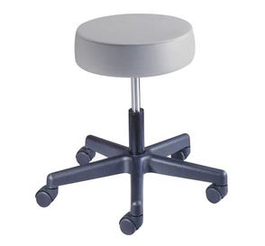 Value Plus Exam Stool, Spin Lift without Backrest, Desert Rose
