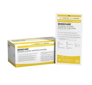 SensiCare® Surgical Gloves w/Aloe Vera, Size 7.5, Latex-Free, Powder-Free - 25/Box