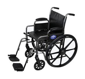 """Wheelchair 18"""" Swing Footrest and Armrest"""