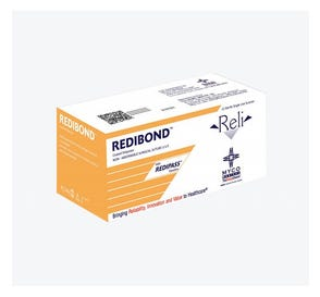 """RELI® Green Braided Polyester Non-Absorbable Suture, 5-0, MV-5, Taper Point, 18"""" - 12/Box"""