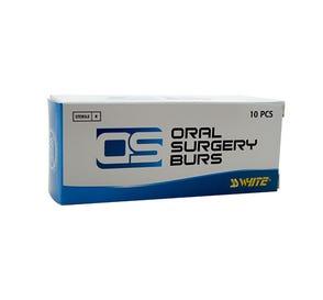Oral Surgery Bur, #703L Taper/Flat End Cross Cut, Shank #5 (59mm Impact), Sterile - 10/Box