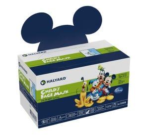 Child's Face Mask, Disney ®, Ages 4-12 - 75/Box