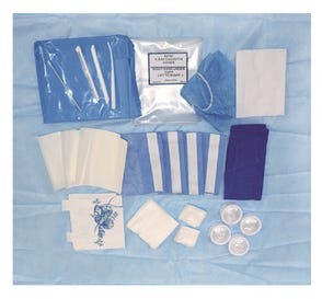 Surgical Split Drape Implant Pack - 4/Case