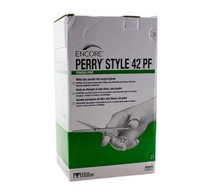 The Original Perry® Style 42® Latex Surgical Gloves, Size 7.5, Powder-Free - 50Pairs/Box