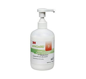 Avagard™ D Instant Hand Antiseptic with Moisturizers, 16 oz (500 ml) Pump Bottle