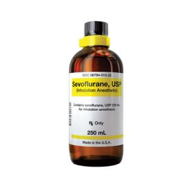 Sevoflurane Inhalation Anesthetic, 250ml Glass Bottle
