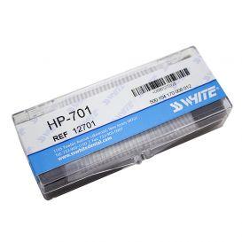 Carbide Bur, #701 Taper/Flat End Cross Cut, Shank #1 (44.5mm), Bulk Packaging, Non-Sterile - 100/Box
