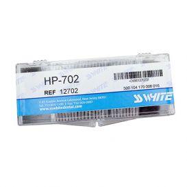 Carbide Bur, #702 Taper/Flat End Cross Cut, Shank #1 (44.5mm), Bulk Packaging, Non-Sterile - 100/Box