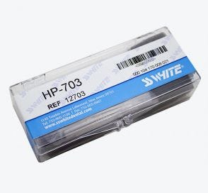 Carbide Bur, #703 Taper/Flat End Cross Cut, Bulk Packaging, Non-Sterile - 100/Box