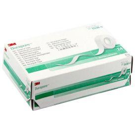 "Durapore™ Surgical Tape, Silk, 1/2"" x 10 yds  - 24/Box"