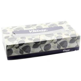"Kleenex® Facial Tissue, 8.4"" x 8"", White - 36/Case"
