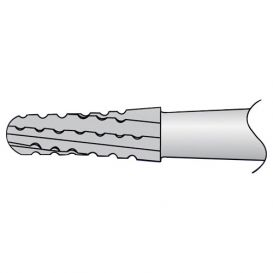 Carbide Bur, #1703 Taper/Round End Cross Cut, Shank #1 (44.5mm), Non-Sterile - 10/Box