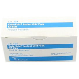 "Instant Cold Packs, Extra Small, 5"" x 5-1/2"" - 50/Case"