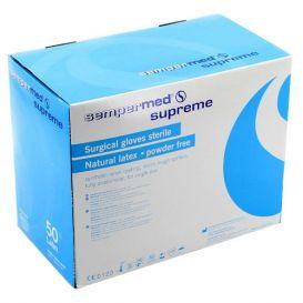 Surgeon Glove 7.5 Latex Powder-Free Supreme Textured - 100/Box